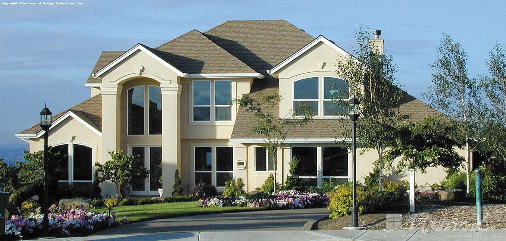 Mascord House Plan B2237P: The Bayport