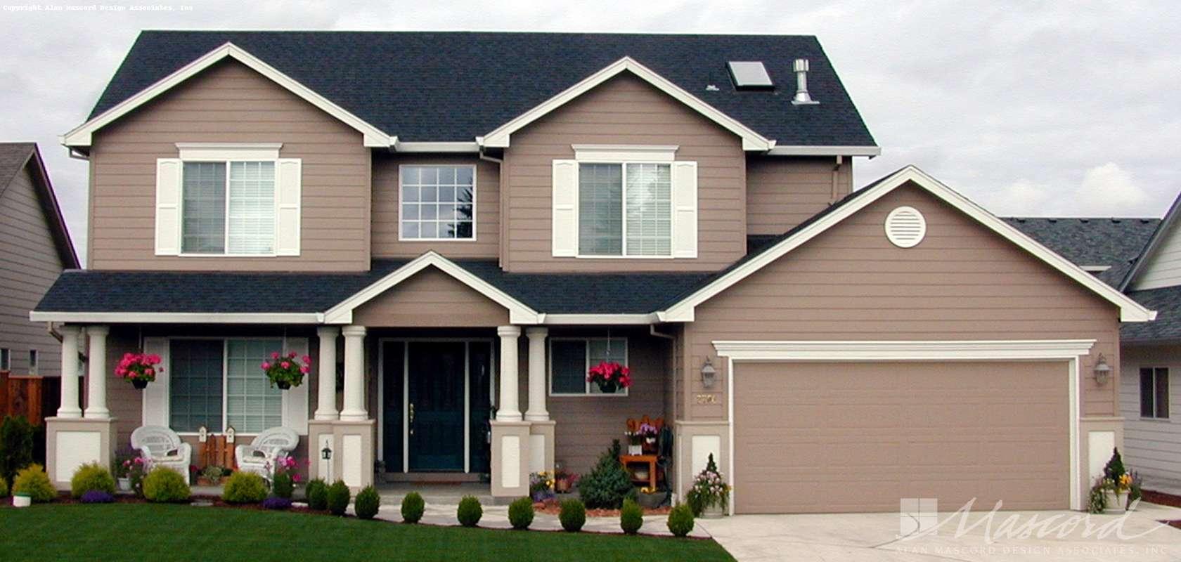 Mascord House Plan 2239N: The Hazelsmith