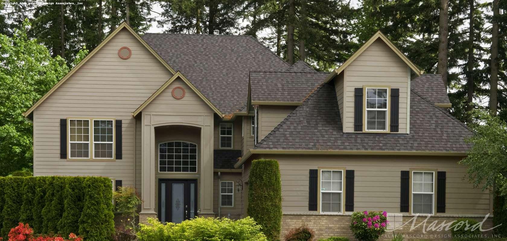Mascord House Plan B2239PC: The Denham