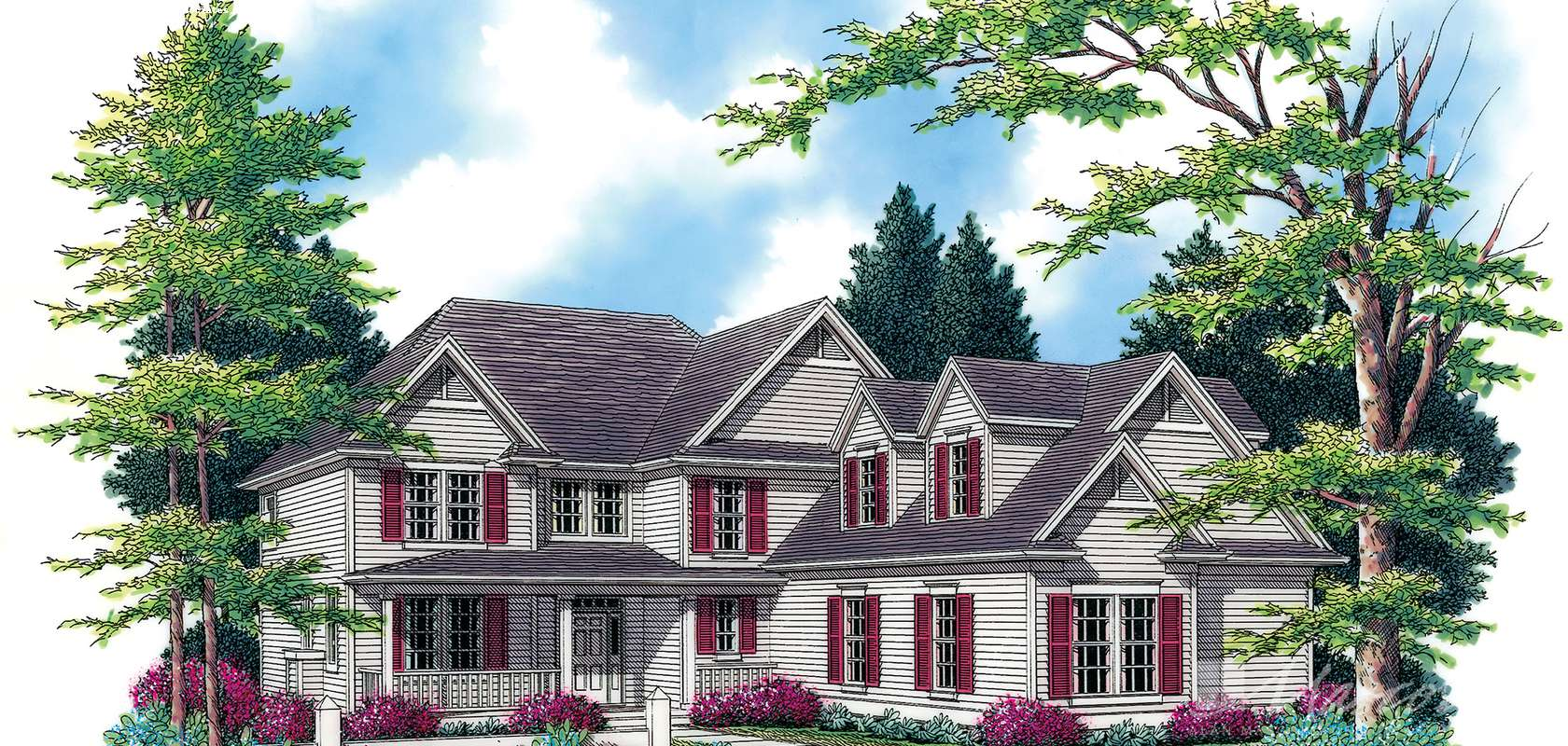 Mascord House Plan B2239PG: The Inwood