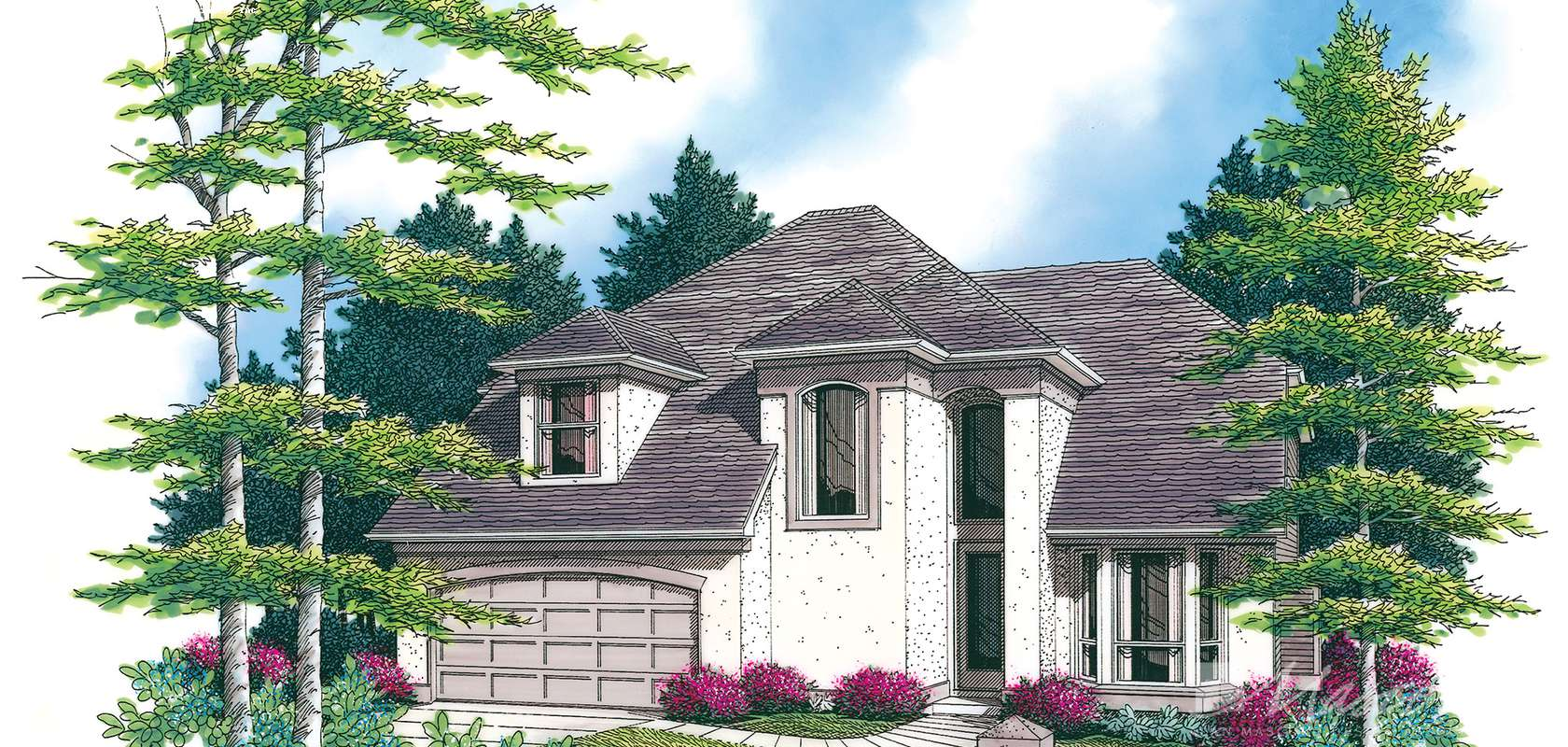 Mascord House Plan 2244BD: The Bromley