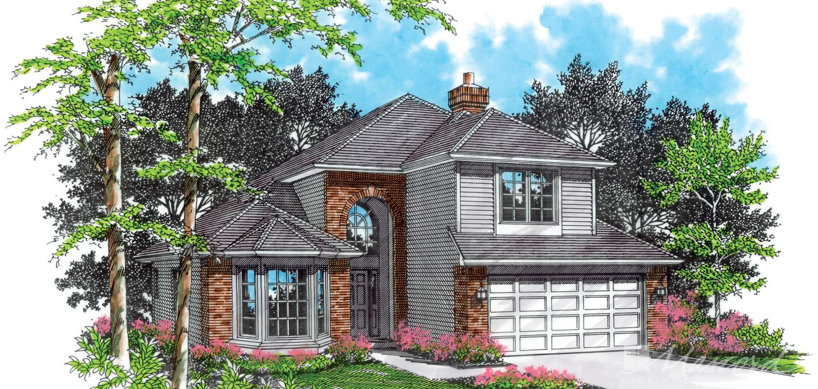 Mascord House Plan 2247C: The Keithsform