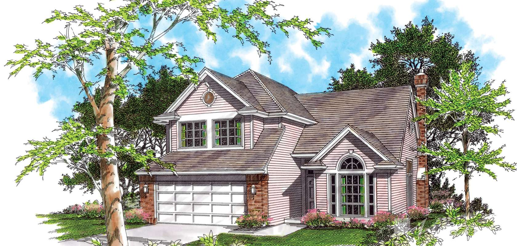 Mascord House Plan 2258: The Lawson