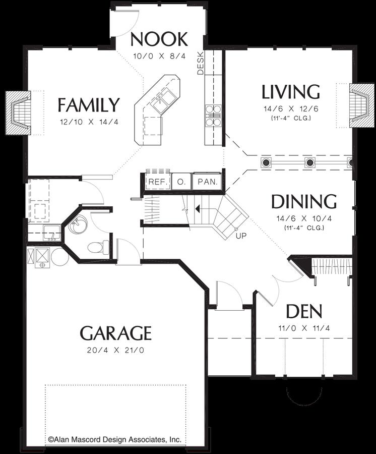 House Plan 2258 - The Lawson | Floor Plan Details