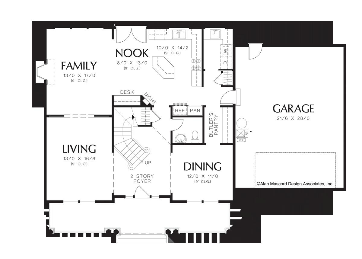 Symmetrical house plans house plan 2017 for Symmetrical house plans