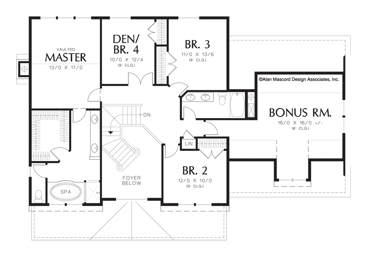 Country House Plan 2261h The Camden 2500 Sqft 4 Bedrooms