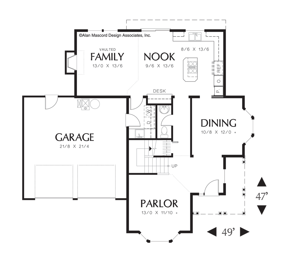 Country house plan 2280 the norway 2195 sqft 4 bedrooms for House plans co
