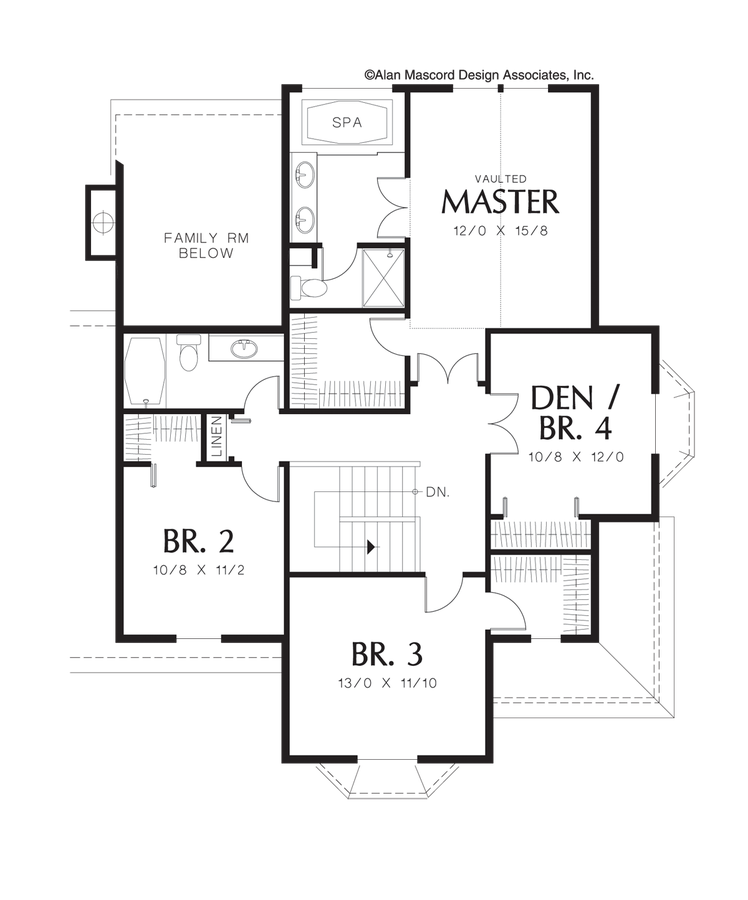 Mascord House Plan 2280 The Norway