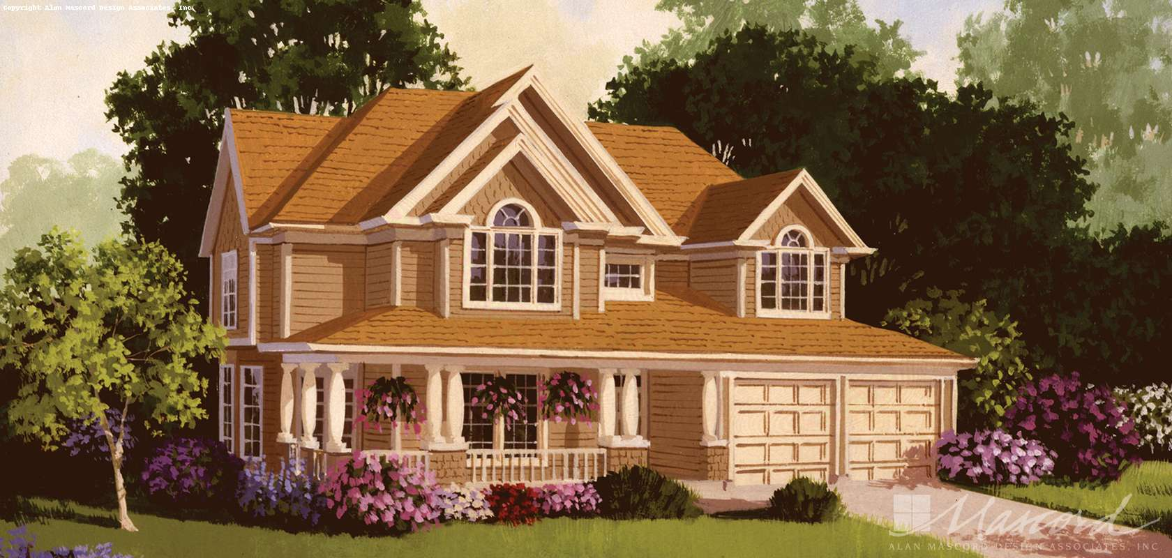Mascord House Plan 2281: The Lyndon