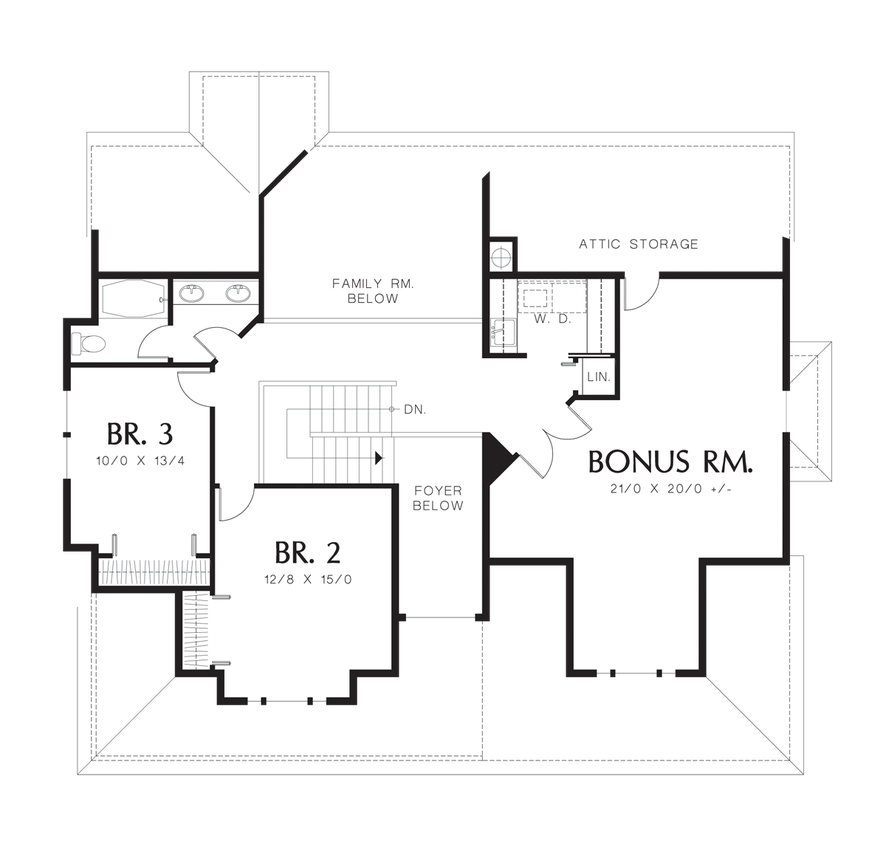 Mascord house plan 1334 house plans floor plans and for House plans with guest suite