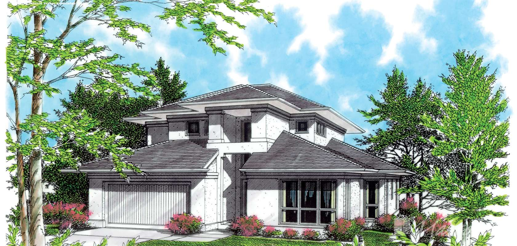 Mascord House Plan 2284C: The Remsen