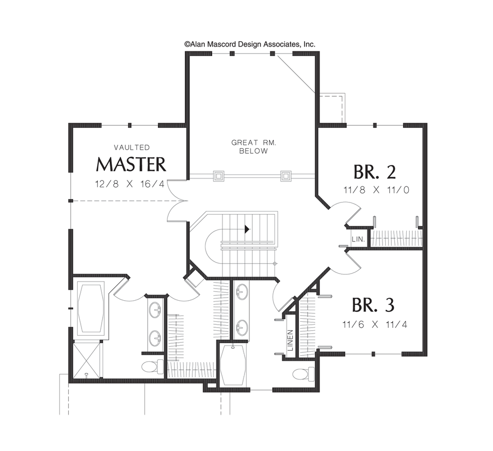 Wooden  puter Desk Plans Free also Roof Overhangs additionally One Story Farmhouse Plan 3424vl furthermore Ex le Loft Convert Plan3 furthermore Montgomery 4184. on front porch framing details