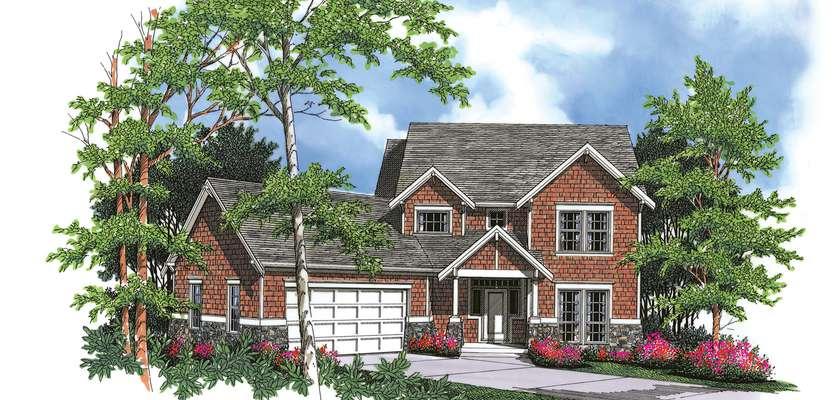 Mascord House Plan B2293: The Seguard