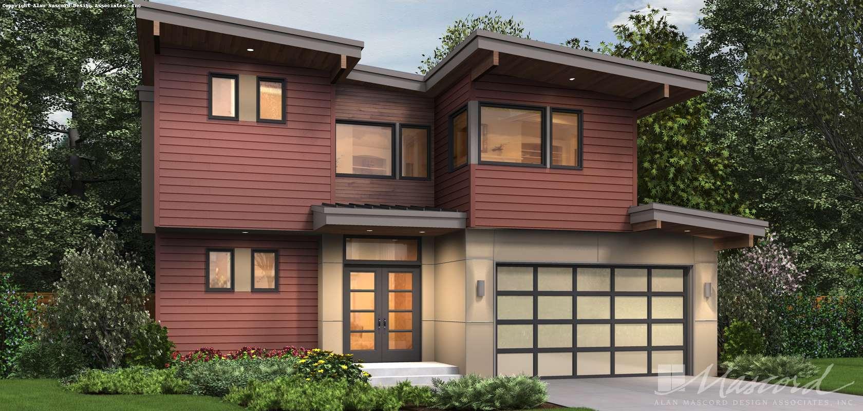 Mascord House Plan 23101: The Ontario