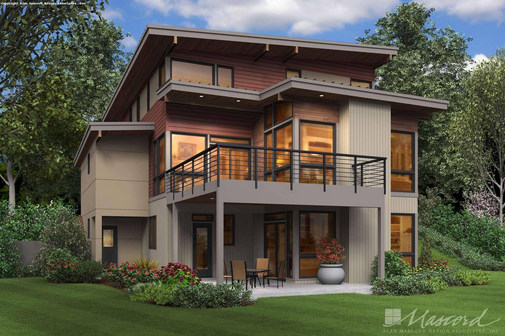 Contemporary House Plan 23101 The Ontario 3026 Sqft 4