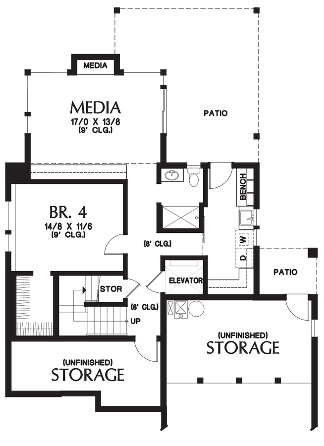 Mascord house plan 23101 the ontario House floor plans ontario