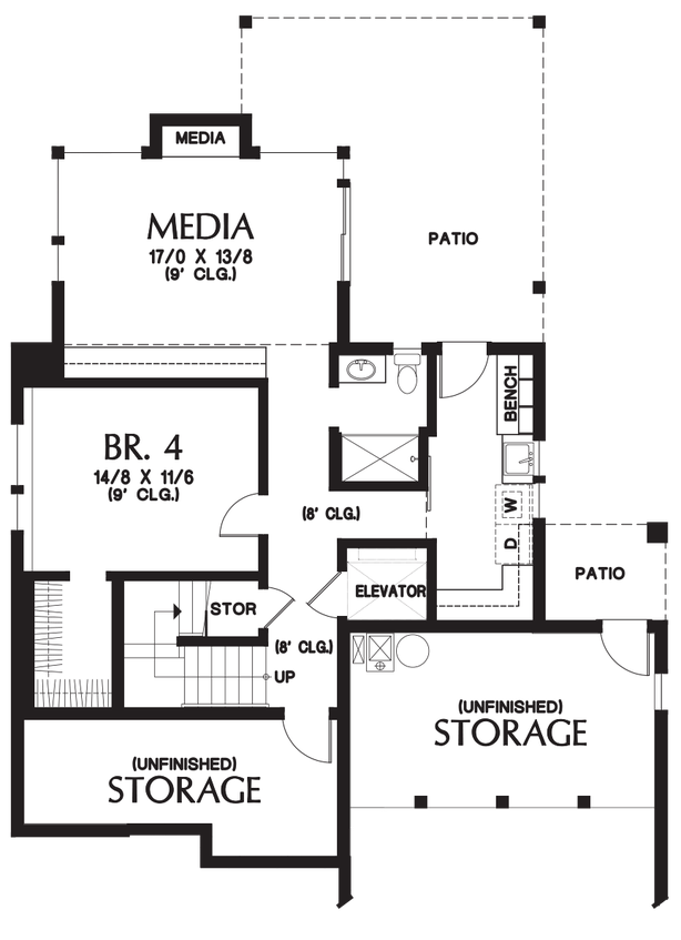 House plan 23101 the ontario House floor plans ontario