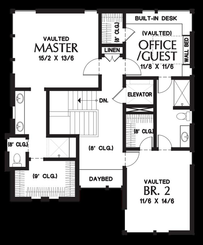 House Plan 23101 The Ontario