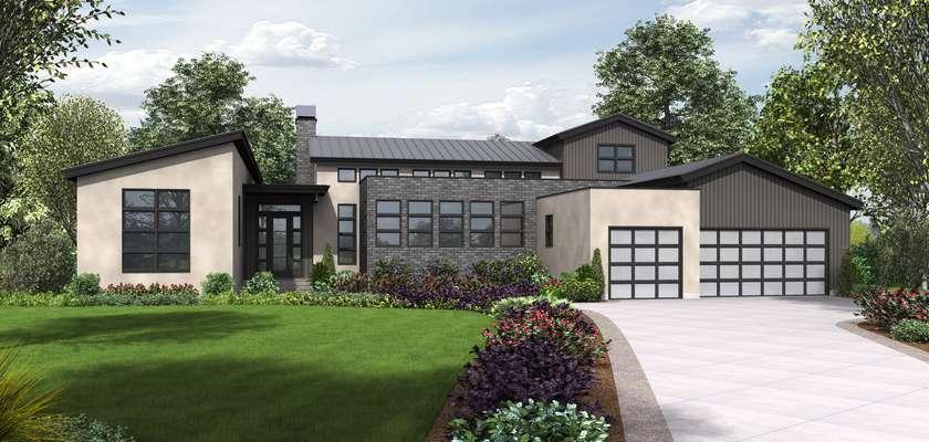 Mascord House Plan 23102: The Tilikum