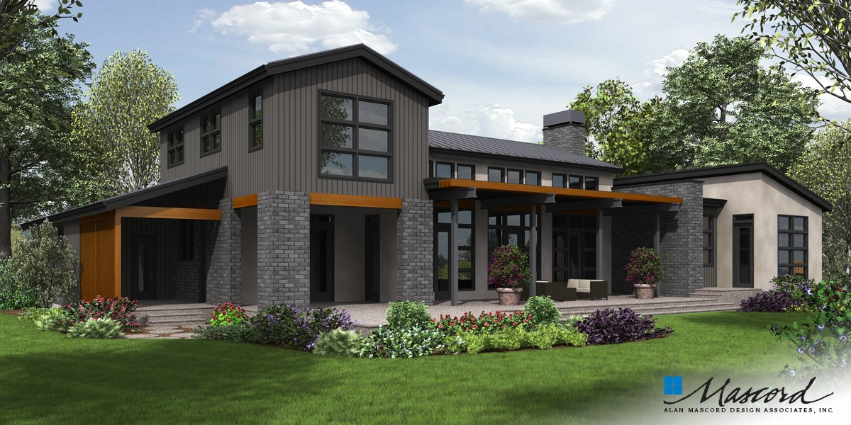 Image for Tilikum-Pacific North West Industrial Loft Style Living-Rear Rendering
