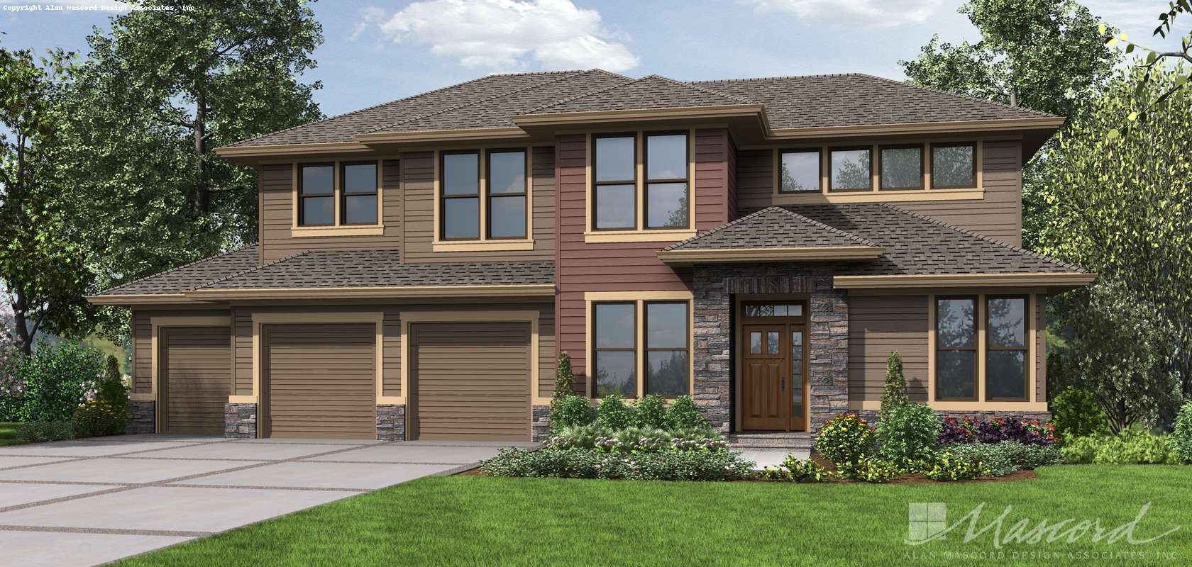 Mascord House Plan 23104: The Boyega