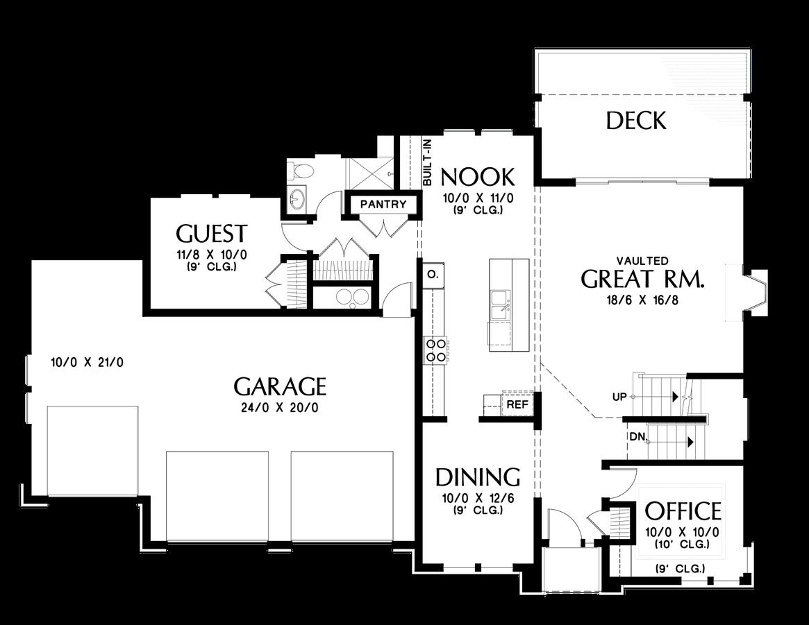 Mascord Floor Plans Part - 20: Main Floor Plan