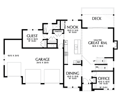 Image for Boyega-Some Work and Lots of Play in an Adventurous Home-Main Floor Plan