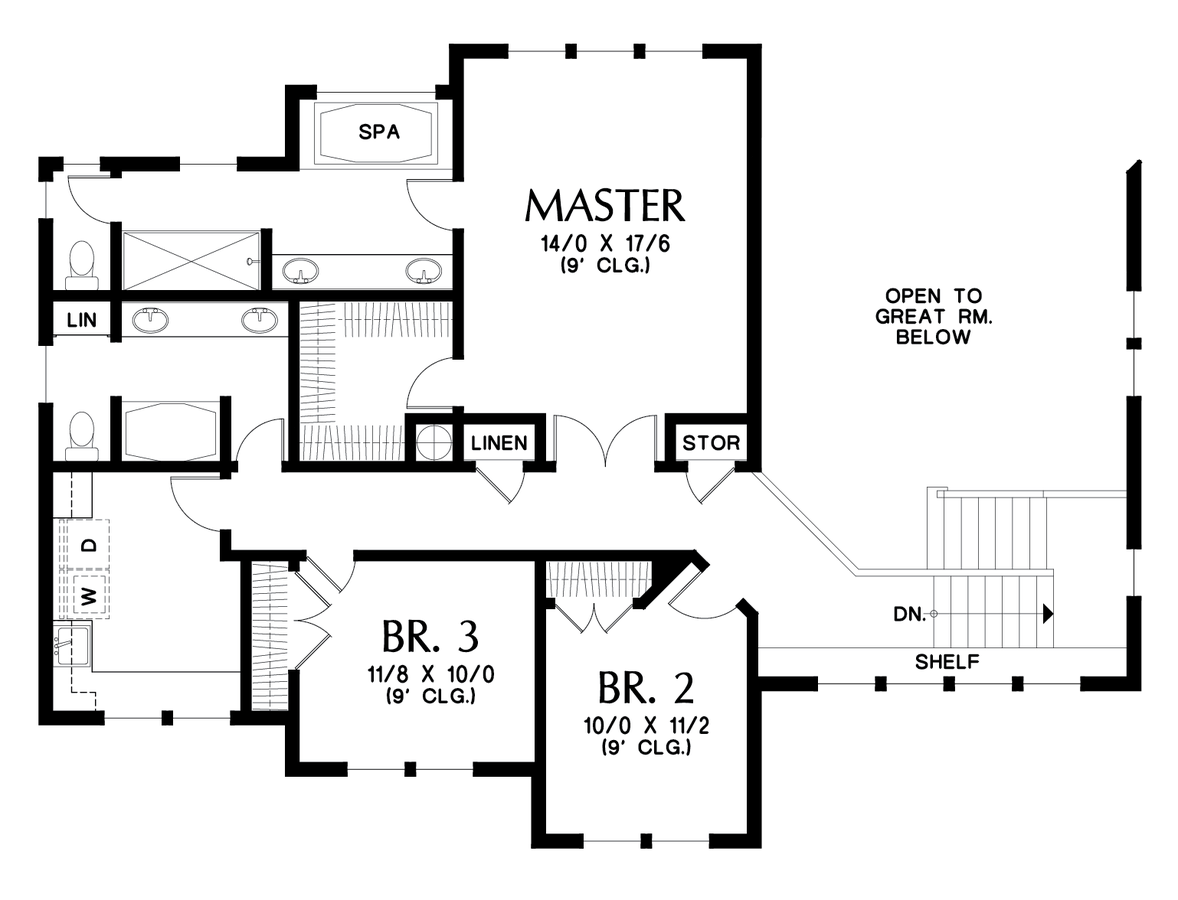 Image for Boyega-Some Work and Lots of Play in an Adventurous Home-Upper Floor Plan