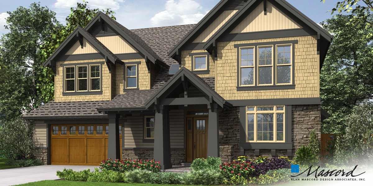 Image for Ridley-Rich Craftsman with Luxurious Extras -Front Rendering
