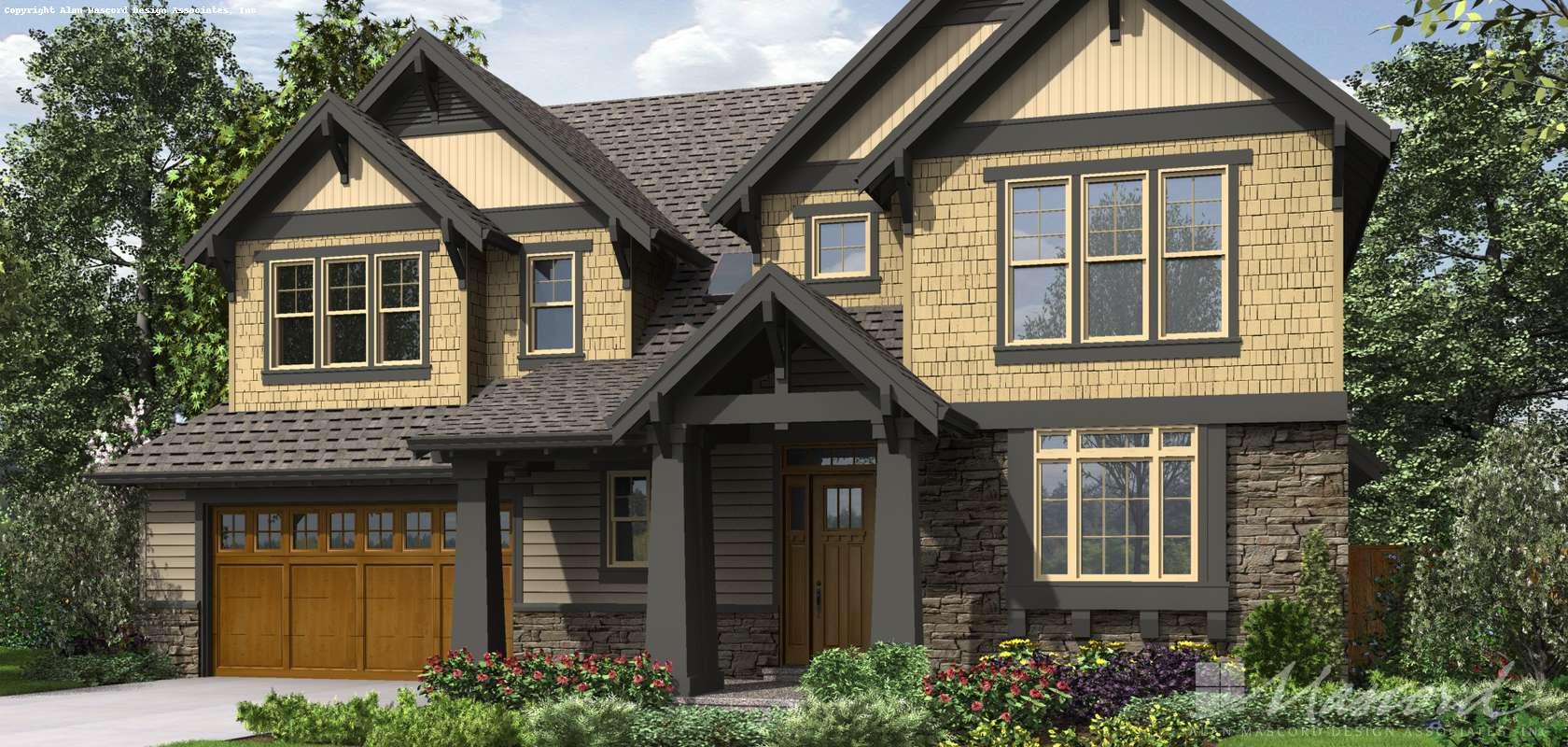 Mascord House Plan 23105: The Ridley