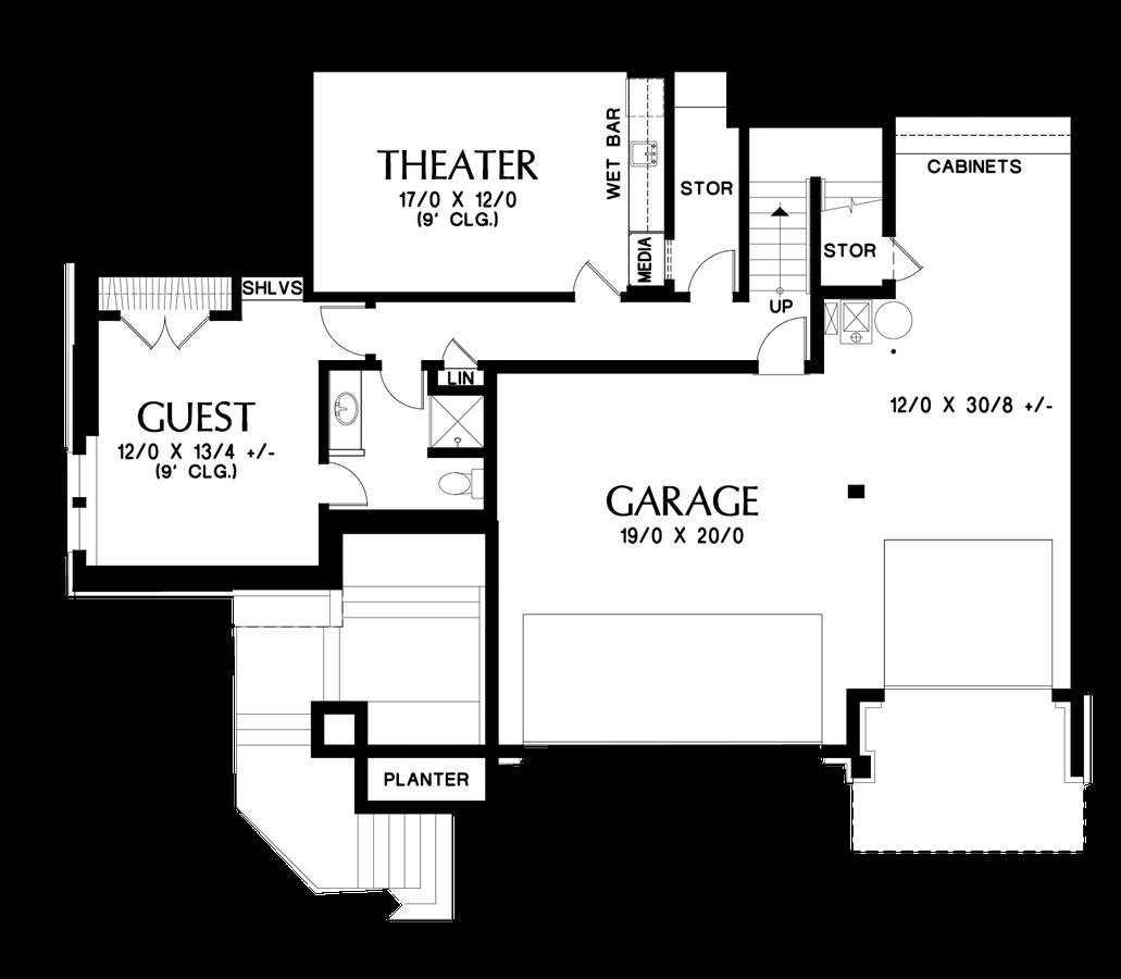mascord house plan 23106 the tannen