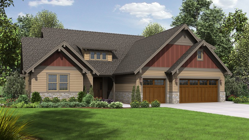 Craftsman House Plan 23109 The Leuven 2481 Sqft 3