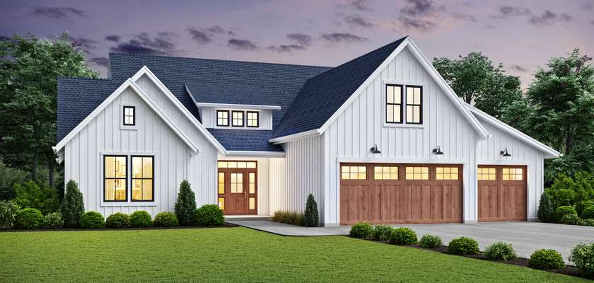 Mascord House Plan 23109A: The Sycamore Rise