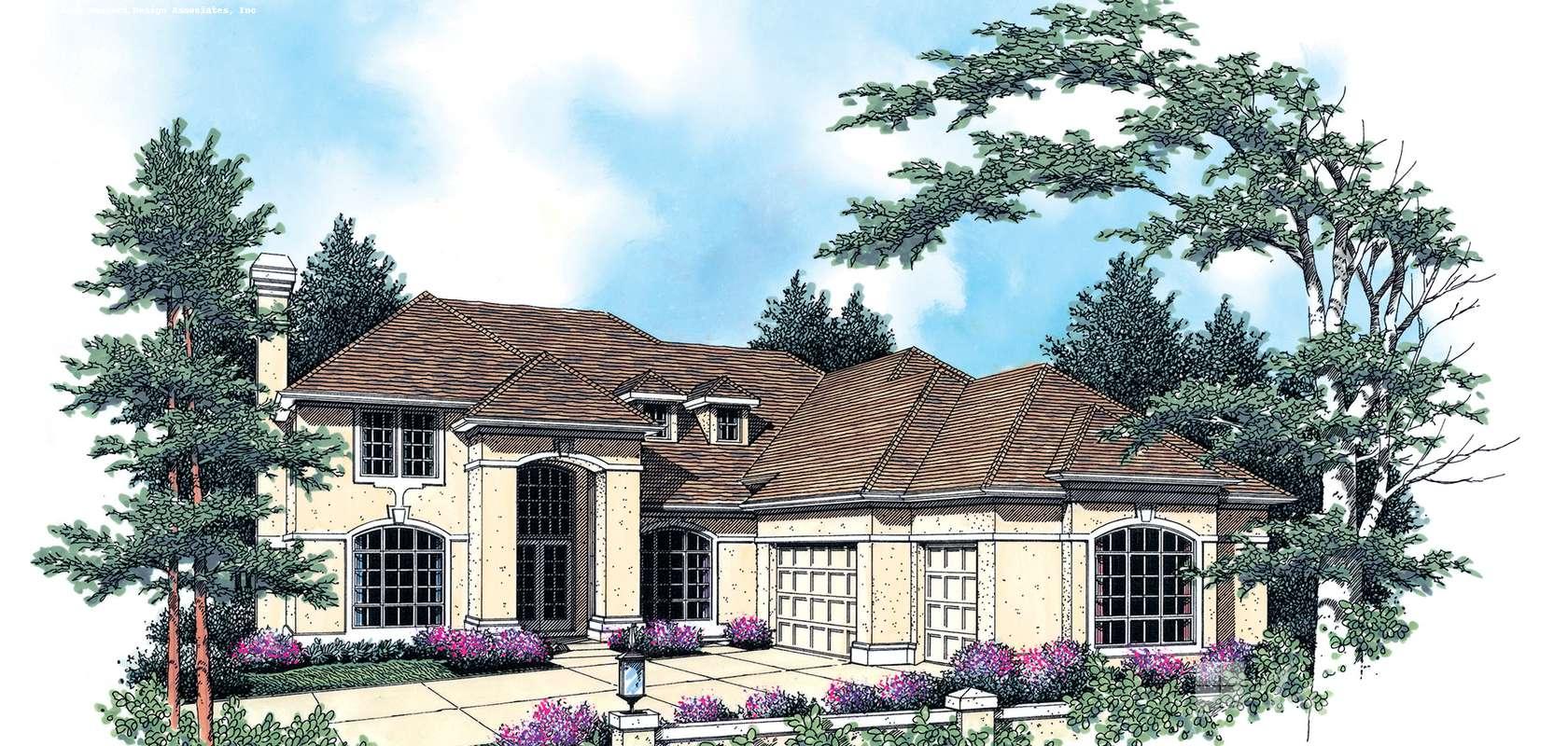Mascord House Plan B2310K: The Halverson