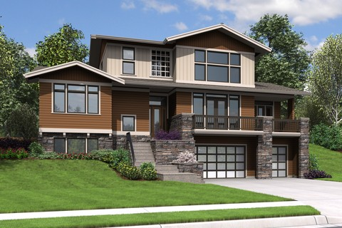 Image for Milwaukee-Charming Contemporary Design for Sloped Lots-8133