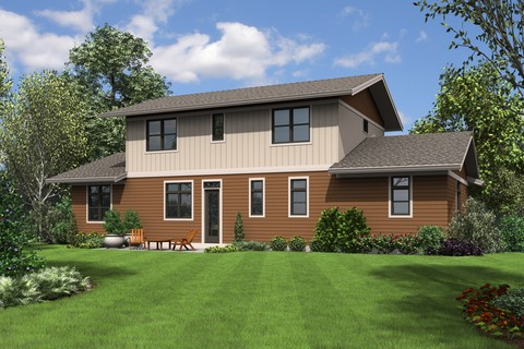 Image for Milwaukee-Charming Contemporary Design for Sloped Lots-8134