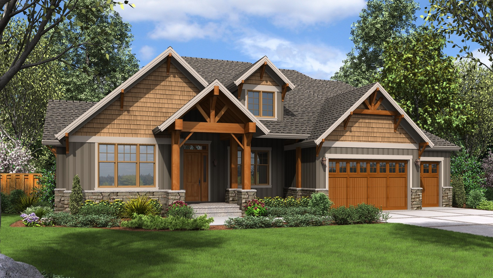 Main image for house plan 23111: The Edgefield