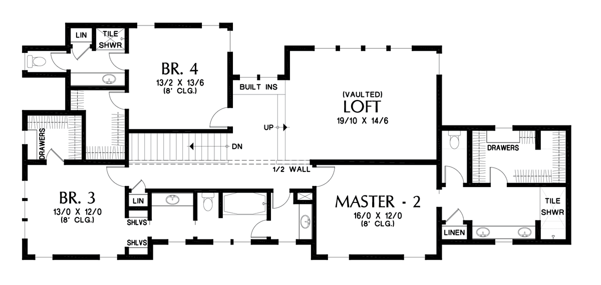 Image for Olympus-Extensive Amenities Packed into a Narrow Footprint-Upper Floor Plan