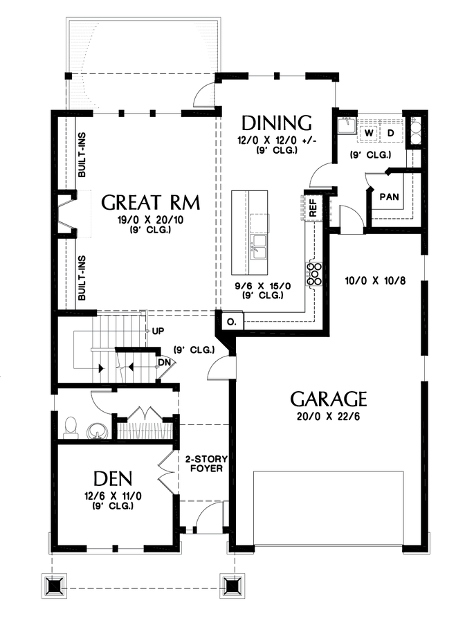 Image for Mellowhaven-Craftsman with Walkout Basement and Huge Master-Main Floor Plan