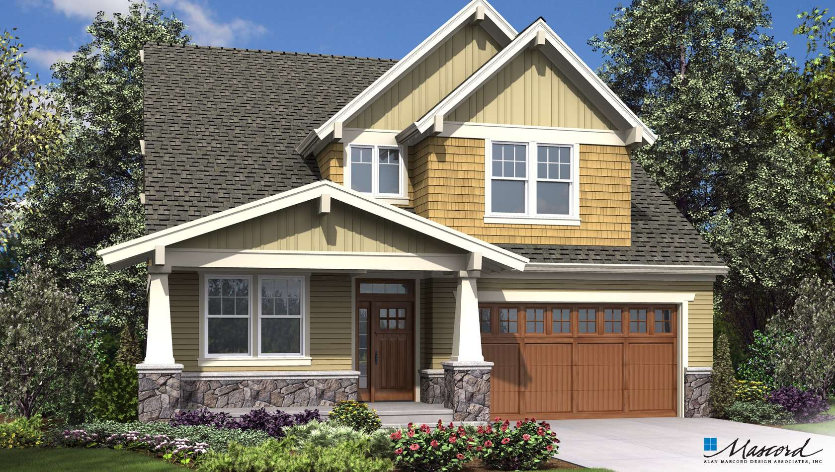 Main image for house plan 23114: The Mellowhaven