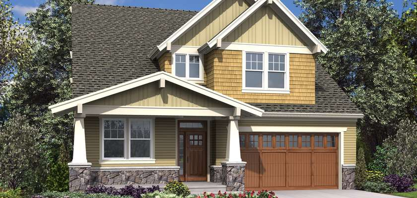 Mascord House Plan 23114: The Mellowhaven
