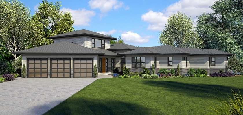 Mascord House Plan 23115: The Phoenix