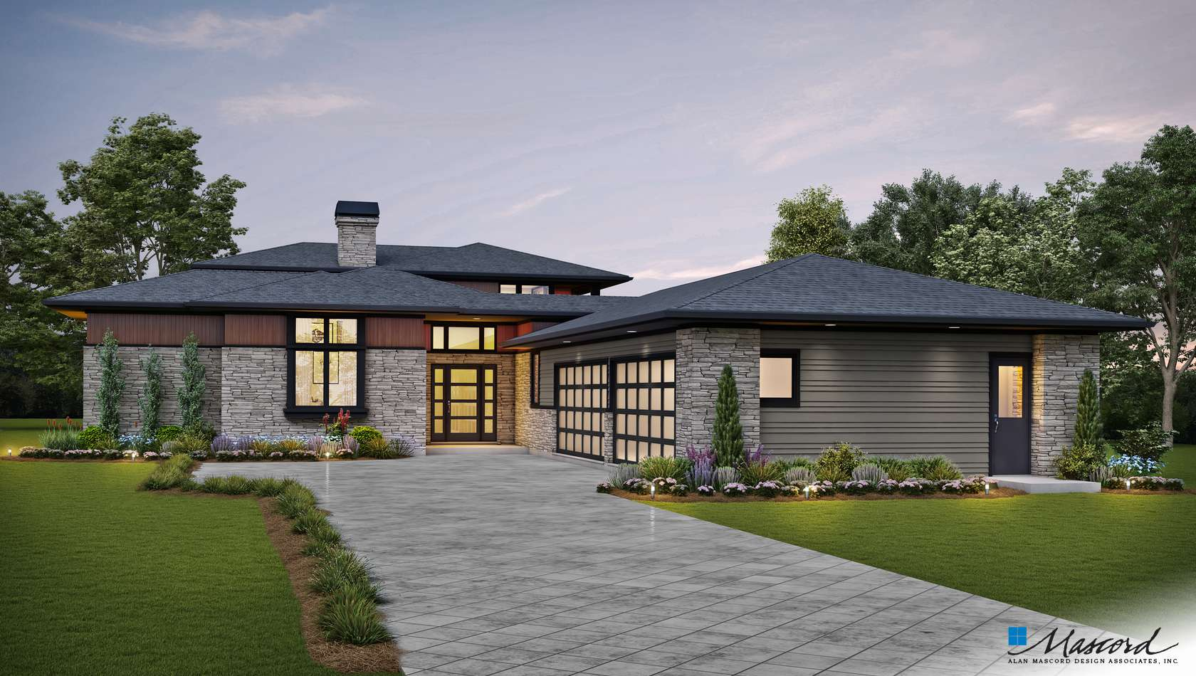 Main image for house plan 23116: The Lucas