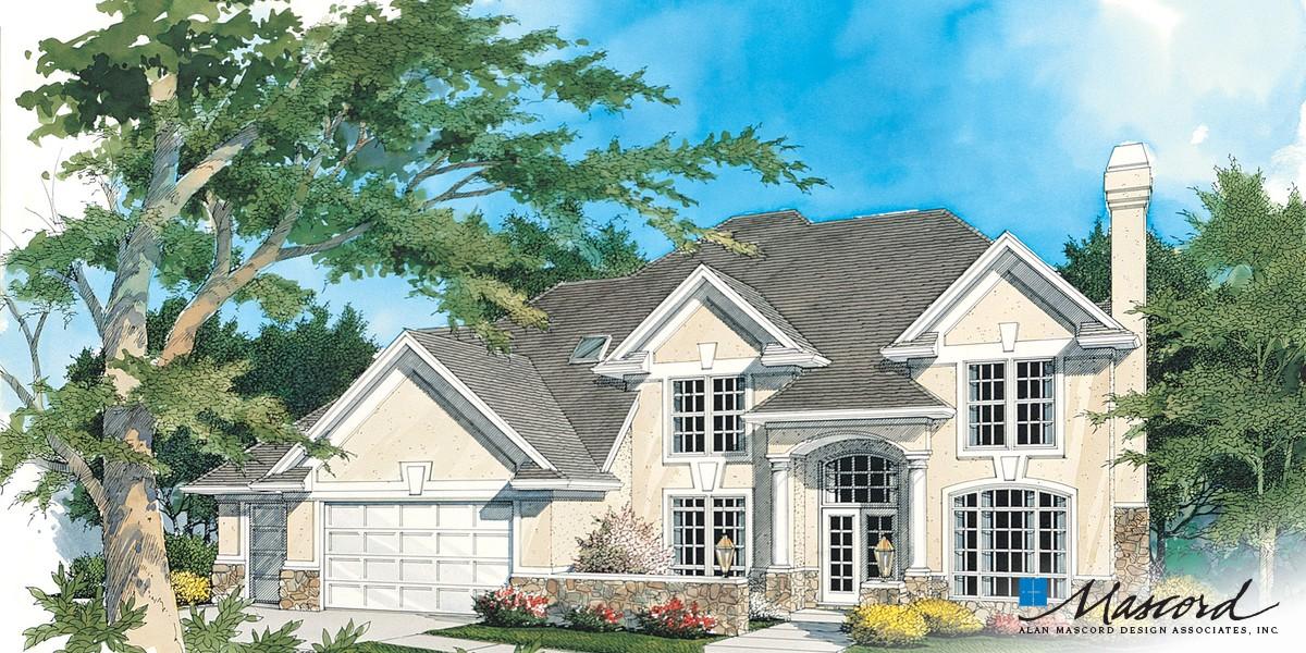 Image for Rosenfeld-Four Bedrooms Plus Bonus on Upper Level-Front Rendering
