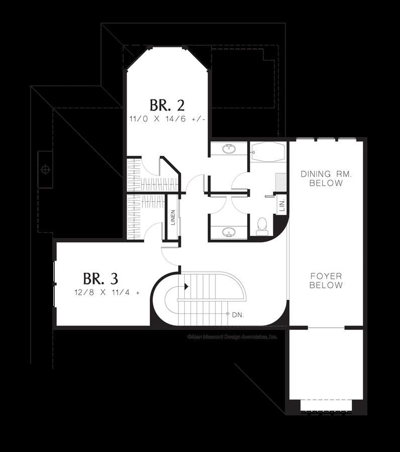 Mascord House Plan 2333 The Berwick