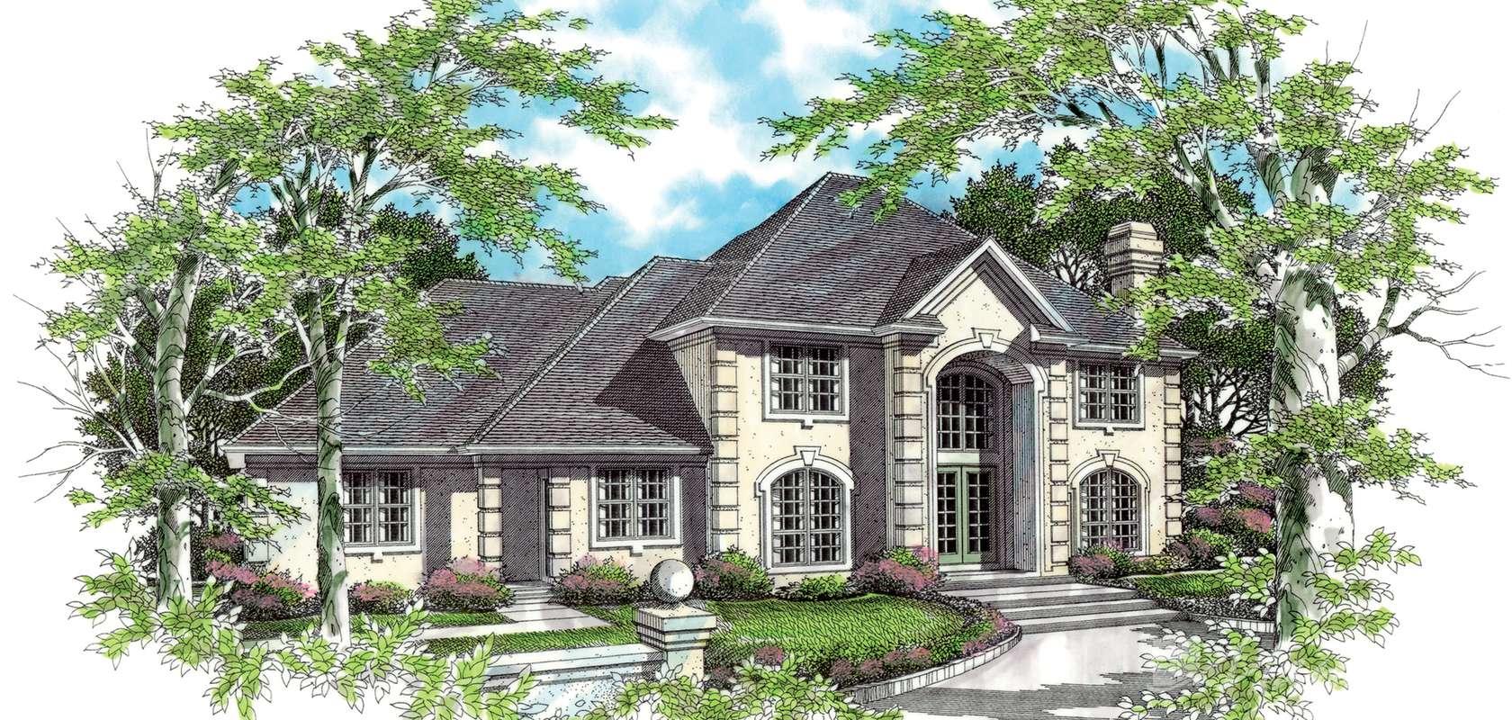 Mascord House Plan 2337: The Milbourne
