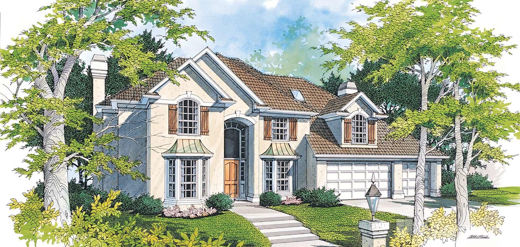 Mascord House Plan 2338: The Pierson