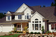 Front Exterior of Mascord House Plan 2342 - The Sundstrom