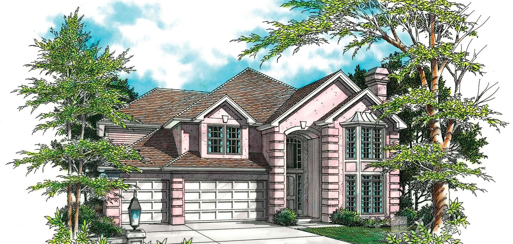 Mascord House Plan B2344: The Collison
