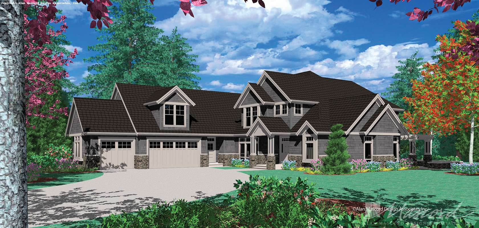 Mascord House Plan B2345C: The